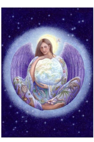 Earth Angel card