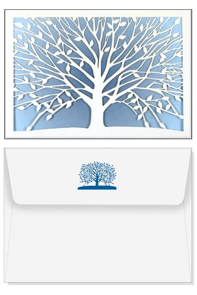 Note Cards Set - Fragile Tree