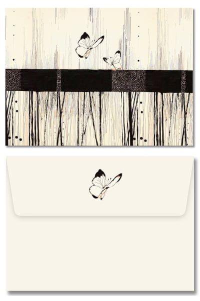 Note Cards Set - Butterflies