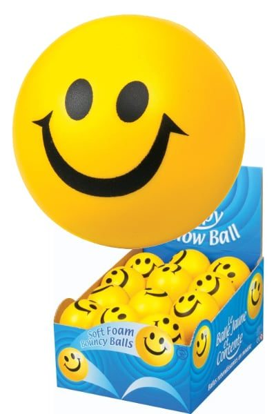 Happy Yellow Ball